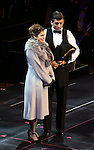 """Rachel Bloom and Tony Yazbeck during the Manhattan Concert Productions 25th Anniversary concert performance of """"Crazy for You"""" at David Geffen Hall, Lincoln Center on February 19, 2017 in New York City."""