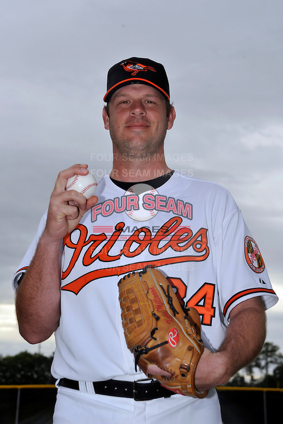 Feb 27, 2010; Tampa, FL, USA; Baltimore Orioles  pitcher Kevin Milwood (34) during  photoday at Ed Smith Stadium. Mandatory Credit: Tomasso De Rosa/ Four Seam Images