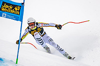29th December 2020; Stelvio, Bormio, Italy; FIS World Cup Super for Men;  Simon Jocher of Germany in action during his run