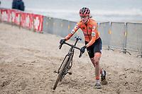 Fem Van Empel (NED/Pauwels Sauzen-Bingoal)<br /> <br /> UCI 2021 Cyclocross World Championships - Ostend, Belgium<br /> <br /> U23 Women's Race<br /> <br /> ©kramon