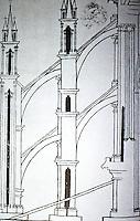 Visual Arts:  Villard De Honnecourt, Plate 47.  THE SKETCHBOOK OF VILLARD DE HONNECOURT.