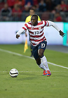 03 June 2012: US Men's National Soccer Team forward Jozy Altidore #17 in action during an international friendly  match between the United States Men's National Soccer Team and the Canadian Men's National Soccer Team at BMO Field in Toronto..The game ended in 0-0 draw...