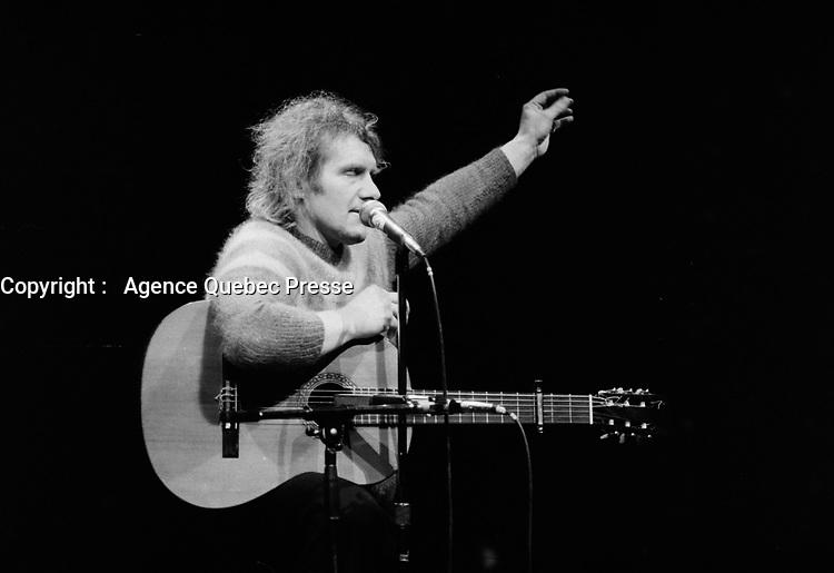 Julos Beaucarne<br /> , en Juin 1978 a L'Imprevu, Montreal , CANADA<br /> <br /> (date exacte inconnue)<br /> <br /> PHOTO : Agence Quebec Presse