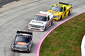 #4: Todd Gilliland, Kyle Busch Motorsports, Toyota Tundra JBL/SiriusXM, #23: Timothy Peters, GMS Racing, Chevrolet Silverado AUTOSBYNELSON.COM, #8: John Hunter Nemechek, NEMCO Motorsports, Chevrolet Silverado