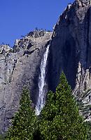 Yosemite Falls in Yosemite National Park, California, USA