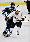 2 December 2011: University of Vermont Catamount forward Brett Bruneteau, a Graduate from Omaha, NB, in action against the University of Maine Black Bears at Gutterson Fieldhouse in Burlington, Vermont. The Catamounts fell to the Black Bears 6-4 in the first game of their 2-game Hockey East weekend series. Mandatory Credit: Ed Wolfstein Photo