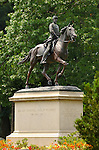Equestrian Statue, Major General Philip Kearny Monument, Arlington National Cemetery, Arlington, Virginia