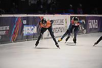 SPEEDSKATING: DORDRECHT: 06-03-2021, ISU World Short Track Speedskating Championships, SF 5000m Relay, Daan Breeuwsma (NED), ©photo Martin de Jong