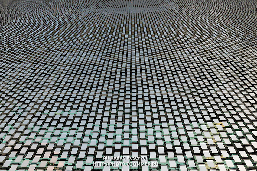 Wind Arbor Kinetic Facade Of Marina Bay Sands Hotel, Singapore