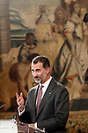 King Felipe VI of Spain. November 23, 2016.(ALTERPHOTOS/Acero)
