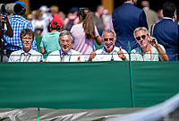 London, England, 3 th. July, 2018, Tennis,  Wimbledon, Dutch bench<br /> Photo: Henk Koster/tennisimages.com