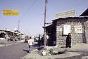 Irak 1991  Dans une rue de Diana  Iraq 1991  In the main street of Diana