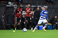 Jefferson Lerma of AFC Bournemouth left pushes forward during AFC Bournemouth vs Reading, Sky Bet EFL Championship Football at the Vitality Stadium on 21st November 2020