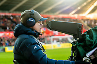 Re: Behind the Scenes Photographs at the Liberty Stadium ahead of and during the Premier League match between Swansea City and Bournemouth at the Liberty Stadium, Swansea, Wales, UK. Saturday 25 November 2017