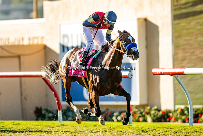 SEPTEMBER 04 2021:  Going to Vegas with Flavien Prat wins the John C Mabee Stakes at Del Mar Fairgrounds in Del Mar, California on September 04, 2021. Evers/Eclipse Sportswire/CSM