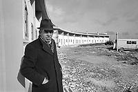 - reconstruction in Irpinia after the earthquake of 1980, popular houses in Bisaccia....- ricostruzione in Irpinia dopo il terremoto del 1980, case popolari a Bisaccia