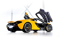 BNPS.co.uk (01202 558833)<br /> Pic: Bonhams/BNPS<br /> <br /> Sold for £1.032 million - 2014 McLaren P1.<br /> <br /> Super-rare Lambo leads incredible sell off an African vice presidents seized car collection.<br /> <br /> The State of Geneva impounded the 24 motors over a financial irregularity court case in 2016 and Bonhams sold off the sparkling collection for a whopping £20 million this weekend.<br /> <br /> An ultra-rare Lamborghini supercar has sold at auction for a world-record price of £6,760,000.<br /> <br /> The Veneno Roadster was one of only nine examples to be built in 2014 and was owned from new by the vice president of Equatorial Guinea.<br /> <br /> Teodorin Obiang Nguema kept the motor for two years before it was seized by Swiss authorities as part of a financial wrongdoing case.