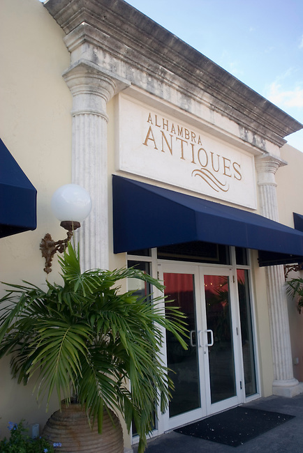 Alhambra Antiques, Miracle Mile, Miami, Florida