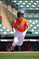 Baltimore Orioles first baseman Preston Palmeiro (6) during an Instructional League game against the Boston Red Sox on September 22, 2016 at the Ed Smith Stadium in Sarasota, Florida.  (Mike Janes/Four Seam Images)