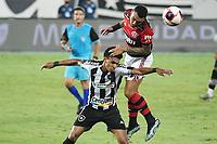 Rio de Janeiro (RJ), 24/03/2021 - Botafogo-Flamengo - Matheuzinho jogador do Flamengo,durante partida contra o Botafogo,válida pela 5ª rodada da Taça Guanabara,realizada no Estádio Nilton Santos (Engenhão), na zona norte do Rio de Janeiro,nesta quarta-feira (24).