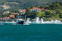 France, Pyrénées-Atlantiques (64), Pays-Basque,Env  Ciboure: La Corniche basque ou Corniche d'Urrugne, e   // France, Pyrenees Atlantiques, Basque Country,Near Ciboure Basque Corniche, Corniche Urrugne
