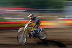 Barry Carsten (84) competes on the course at the Unadilla Valley Sports Center in New Berlin, New York on July 16, 2006, during the AMA Toyota Motocross Championship.