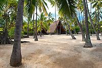Pu`uhonua (City of Refuge) O Hōnaunau, Kona coast, Big Island