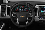 Car pictures of steering wheel view of a 2018 Chevrolet Silverado-1500 LT-Crew 4 Door Pick-up Steering Wheel