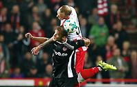 Sebastian Andersson, Toni Leistner /   / general viel, Spielszene  /      <br /> / Sport / Football Football / zweite 2.Bundesliga  DFL /  2017/2018 / 25.09.2017 / 1.FC Union Berlin FCU vs. 1.Fc Kaiserslautern FCK 170925008 /      <br />     *** Local Caption *** © pixathlon<br /> Contact: +49-40-22 63 02 60 , info@pixathlon.de
