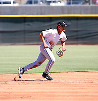Gordon Beckham / Chicago White Sox 2008 Instructional League..Photo by:  Bill Mitchell/Four Seam Images