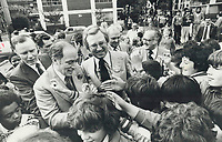 1978<br />  FILE PHOTO - ARCHIVES -<br /> <br /> Pierre Trudeau aided campaign but Eggleton lost 1978 federal by-election.<br /> <br /> Bezant, Graham<br /> Picture, 1978<br /> <br /> 1978<br /> <br /> PHOTO : Graham Bezant - Toronto Star Archives - AQP