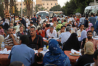 "Afrika Nordafrika Ägypten Kairo Cairo .Restaurants an der El-Hussein Moschee im Stadtteil Khan el Khalili , Menschen beim Iftar Fest dem Fastenbrechen im Fastenmonat Ramadan  - Religion Islam Moslems Fasten Feiertag Freitagsgebet Essen Restaurant Megacity Metropole xagndaz | .Africa north africa arabia Egypt Cairo  .El-Hussein mosque in Khan el Khalili , people celebrate Iftar the fast break in holy month Ramadan - religion muslim Islam Food eat .| [ copyright (c) Joerg Boethling / agenda , Veroeffentlichung nur gegen Honorar und Belegexemplar an / publication only with royalties and copy to:  agenda PG   Rothestr. 66   Germany D-22765 Hamburg   ph. ++49 40 391 907 14   e-mail: boethling@agenda-fototext.de   www.agenda-fototext.de   Bank: Hamburger Sparkasse  BLZ 200 505 50  Kto. 1281 120 178   IBAN: DE96 2005 0550 1281 1201 78   BIC: ""HASPDEHH"" ] [#0,26,121#]"