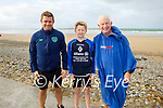 Shane, Billy and Eddie Joe Stack enjoying their swim on Sunday morning in Banna.