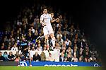 Tottenham Hotspur 0 Lazio 0, 20/09/2012. White Hart Lane, Europa League. Gareth Bale leaps for a header. Photo by Simon Gill.