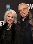 "Jamie deRoy and Richard Maltby Jr. attends the Broadway Opening Night Performance  for ""Network"" at the Belasco Theatre on December 6, 2018 in New York City."