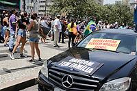 25/01/2021 - PROTESTO DE DONOS DE BARES E RESTAURANTES