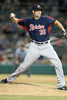 Scott Patterson #35 of the Tacoma Rainiers plays in a Pacific Coast League game against the Tucson Padres  at Kino Stadium on June 4, 2011  in Tucson, Arizona. .Photo by:  Bill Mitchell/Four Seam Images.