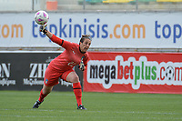 20190304 - LARNACA , CYPRUS : Italian goalkeeper Rosalia Pipitone pictured during a women's soccer game between Italy and Thailand , on Monday 4 March 2019 at the AEK Arena in Larnaca , Cyprus . This is the third game in group B for both teams during the Cyprus Womens Cup 2019 , a prestigious women soccer tournament as a preparation on the FIFA Women's World Cup 2019 in France . PHOTO SPORTPIX.BE | STIJN AUDOOREN