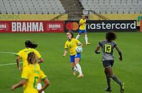 São Paulo (SP), 27/11/2020 - Brasil-Equador - Luana do Brasil. Brasil e Equador em amistoso internacional, a partida realizada na Neo Química Arena em São Paulo, nesta sexta-feira (27), marca o retorno da Seleção Brasileira Feminina após oito meses sem jogos internacionais.