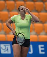 Rotterdam, Netherlands, December 14, 2016, Topsportcentrum, Lotto NK Tennis,   Mandy Wagemaker (NED)<br /> Photo: Tennisimages/Henk Koster