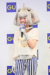 Kyary Pamyu Pamyu, March 5, 2013 : Japanese fashion model and singer Kyary Pamyu Pamyu attends media conference for G.U. Spring & Summer 2013 Business Strategies in Tokyo on March 5, 2013.  (Photo by Yohei Osada/AFLO)