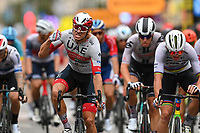29th August 2020, Nice, France;  KRISTOFF Alexander of UAE-Team Emirates during stage 1 of the 107th edition of the 2020 Tour de France cycling race, a stage of 156 kms with start in Nice Moyen Pays and finish in Nice