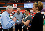 Berlin-Germany - May 23, 2014 -- International Trade Union Confederation - 3rd ITUC World Congress 'Building Workers' Power'; here, i.a., outgoing ITUC-President  Michael Sommer (le) -- Photo: © HorstWagner.eu / ITUC