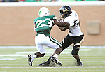 DENTON, TX - AUGUST 31: North Texas Mean Green defensive back Zac Whitfield (23) of the North Texas Mean Green Football vs Idaho Vandals at Apogee Stadium in Denton on August 31, 2013 in Denton, Texas. Photo by Rick Yeatts