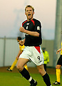 18/12/2004  Copyright Pic : James Stewart.File Name : jspa08_falkirk_v_qots.DANIEL MCBREEN CELEBRATES AFTER HE FIRES HOME FALKIRK'S SECOND.......Payments to :.James Stewart Photo Agency 19 Carronlea Drive, Falkirk. FK2 8DN      Vat Reg No. 607 6932 25.Office     : +44 (0)1324 570906     .Mobile   : +44 (0)7721 416997.Fax         : +44 (0)1324 570906.E-mail  :  jim@jspa.co.uk.If you require further information then contact Jim Stewart on any of the numbers above.........