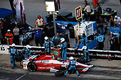 Verizon IndyCar Series<br /> Rainguard Water Sealers 600<br /> Texas Motor Speedway, Ft. Worth, TX USA<br /> Saturday 10 June 2017<br /> Marco Andretti, Andretti Autosport with Yarrow Honda pit stop<br /> World Copyright: Michael L. Levitt<br /> LAT Images