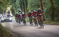 Team BMC underway to winning the TTT<br /> <br /> 12th Eneco Tour 2016 (UCI World Tour)<br /> stage 5 (TTT) Sittard-Sittard (20.9km) / The Netherlands