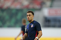 ST. GALLEN, SWITZERLAND - MAY 30: Sergino Dest #2 of the United States during a game between Switzerland and USMNT at Kybunpark on May 30, 2021 in St. Gallen, Switzerland.