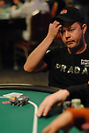 Day 1 chip leader Nicolas Perez is eliminated