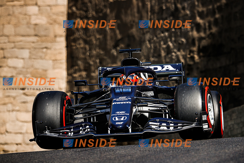 22 TSUNODA Yuki (jap), Scuderia AlphaTauri Honda AT02, action during the Formula 1 Azerbaijan Grand Prix 2021 from June 04 to 06, 2021 on the Baku City Circuit, in Baku, Azerbaijan -<br /> FORMULA 1 : Grand Prix Azerbaijan <br /> 05/06/2021 <br /> Photo DPPI/Panoramic/Insidefoto <br /> ITALY ONLY